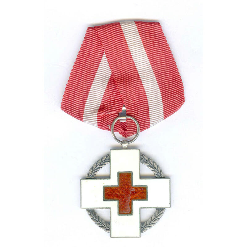 Red Cross medal  for Relief  Work in war 1939-45 1