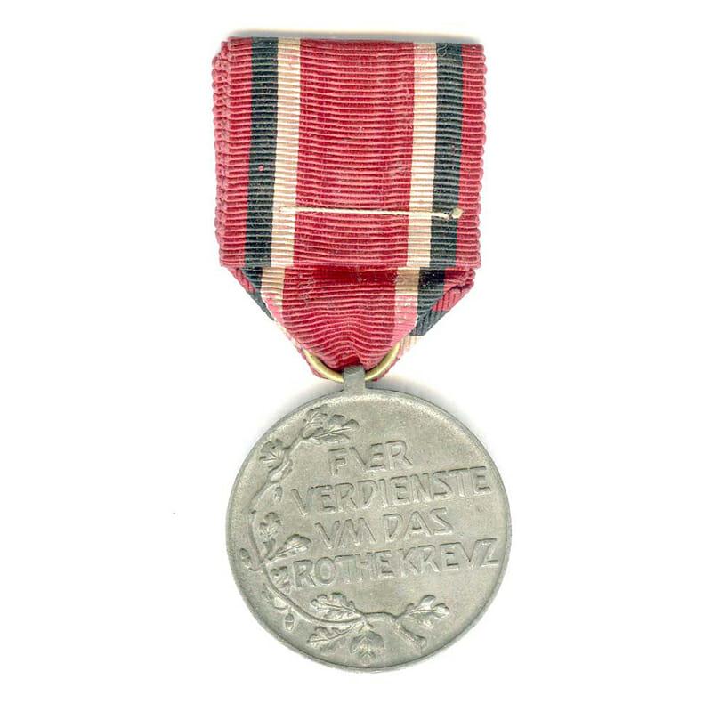 Red Cross medal zinc 2