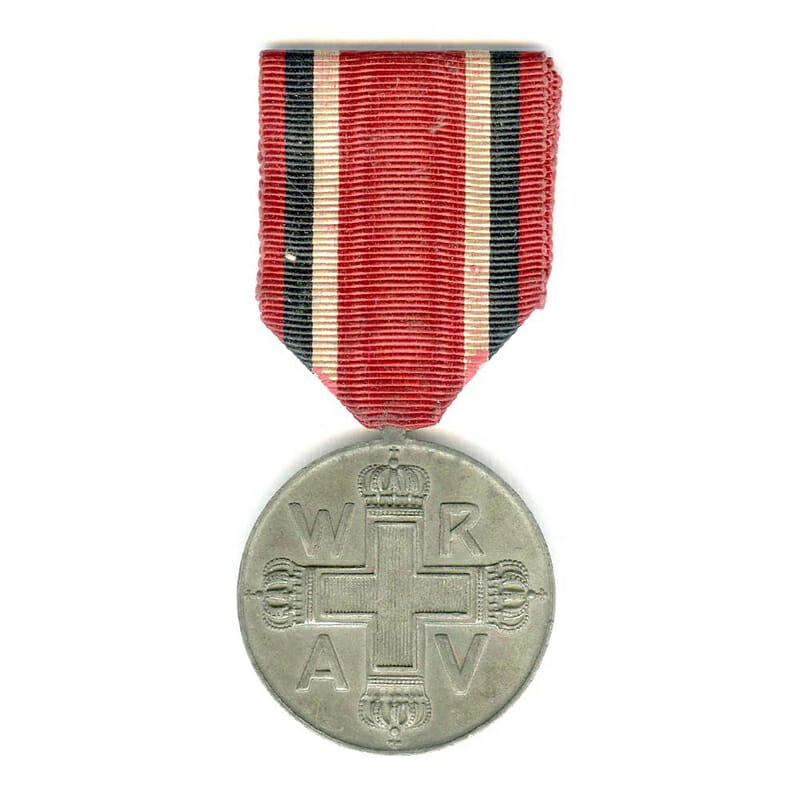 Red Cross medal zinc 1