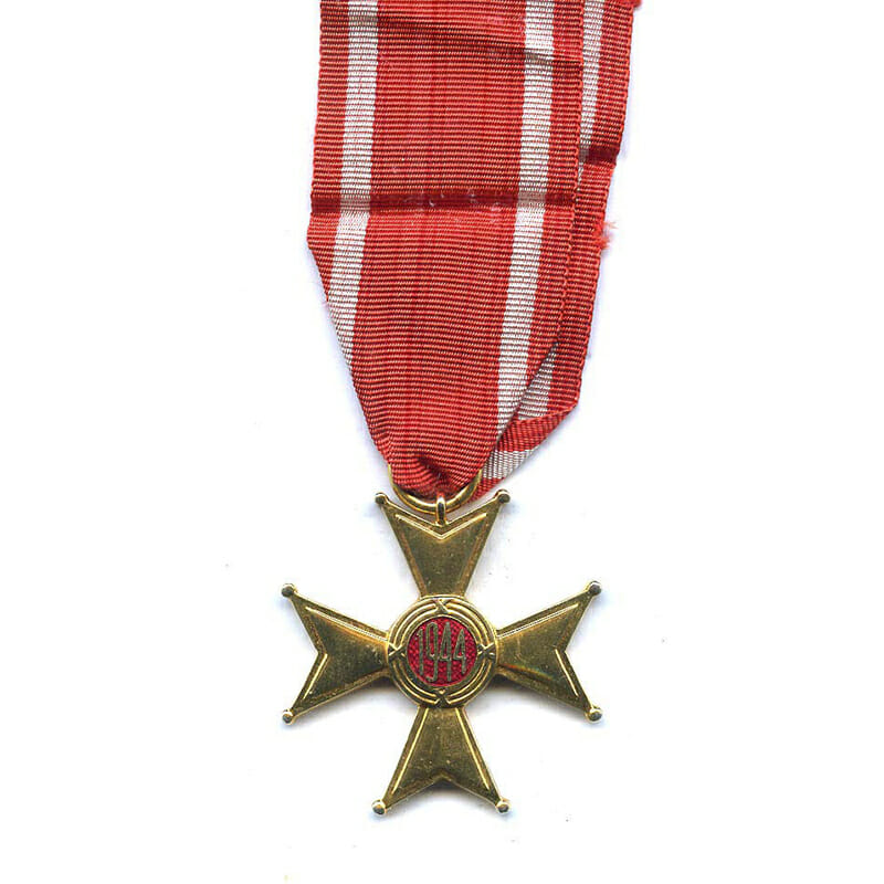 Order of Polonia Restituta 1944 knight  with original award booklet dated 1976 2