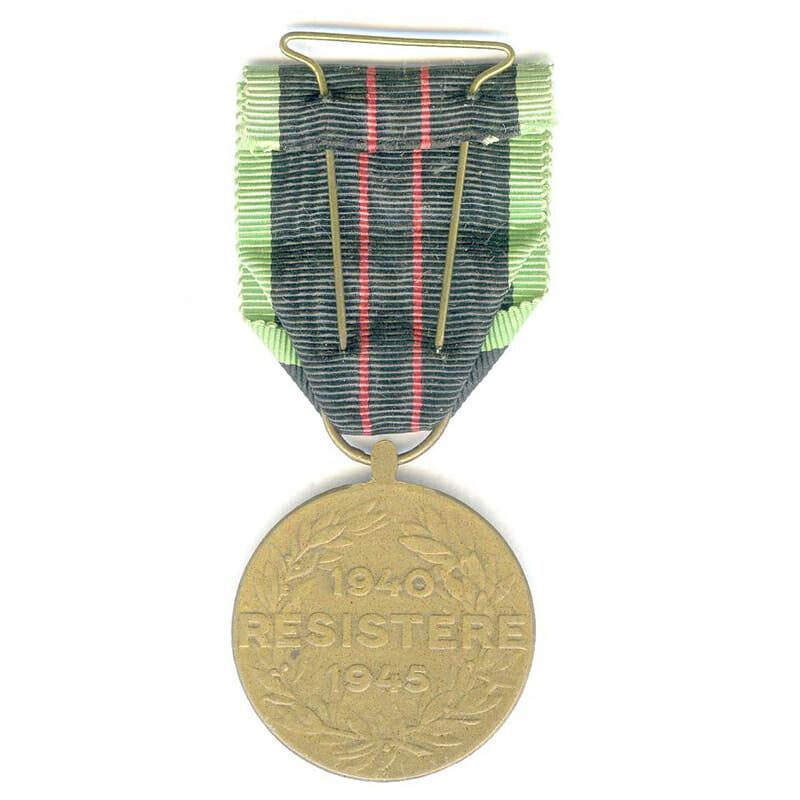 Armed Resistance medal 1940-45 2
