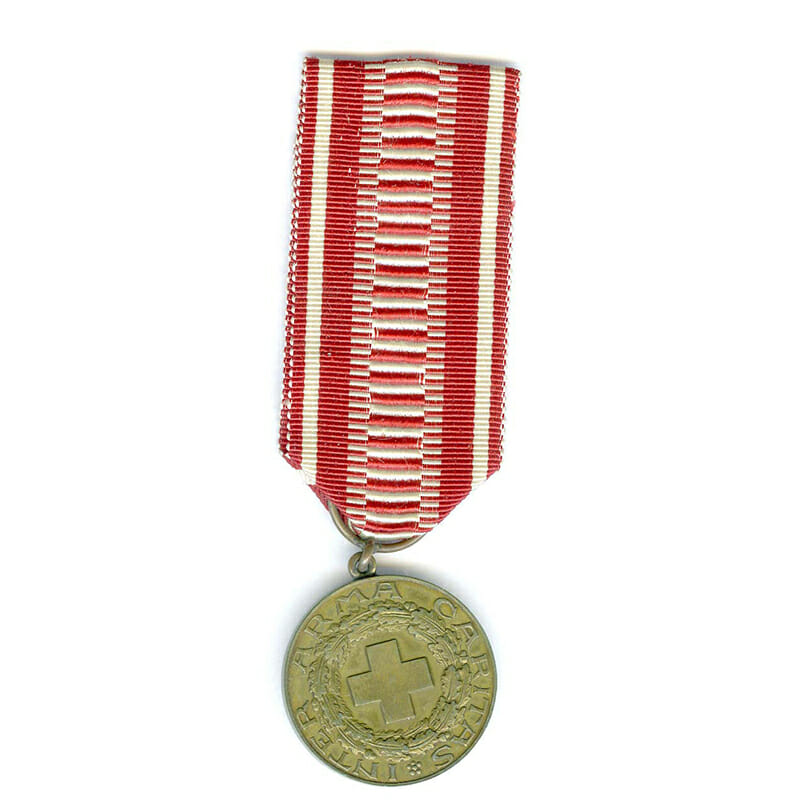 Red Cross Merit medal bronze 1