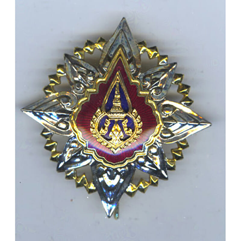 Order of the Crown Grand Cross breast star 2nd type 1