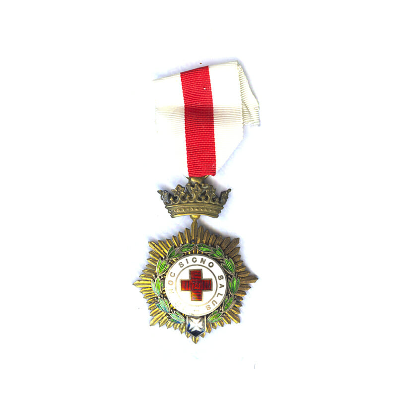 Red Cross Order medal 1st class 1