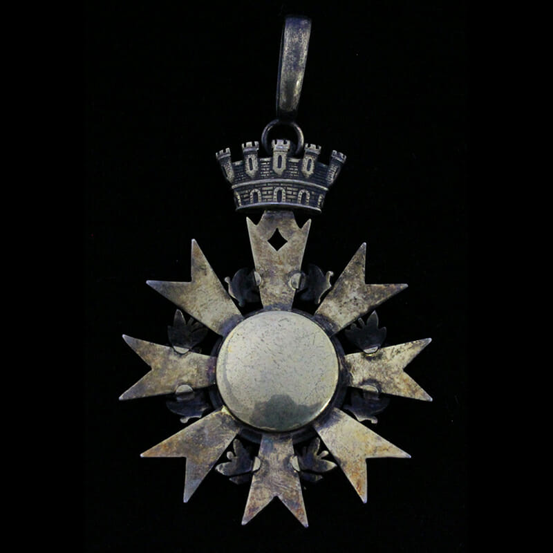 Order of  the Republic 1932 Commander neck badge 2
