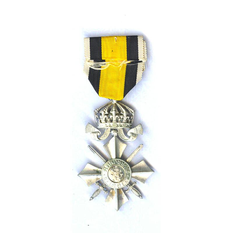 Order of Military Merit 1891 Silver Merit Cross 2