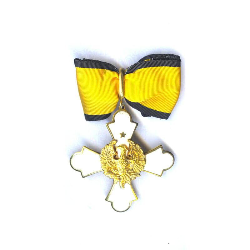 Order of the Phoenix Commanders neck badge 1973 issue 1