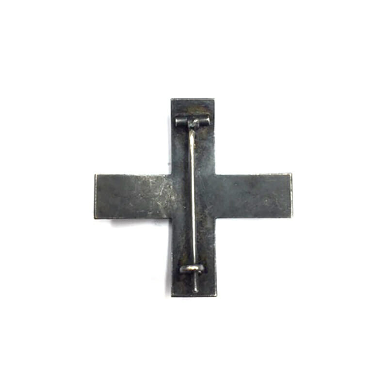 Baltic Cross 1st class pinback  Iron with gilded brass front 2