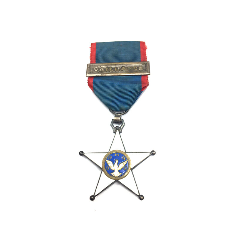 Order of Bravery bar Vaillance rare 1