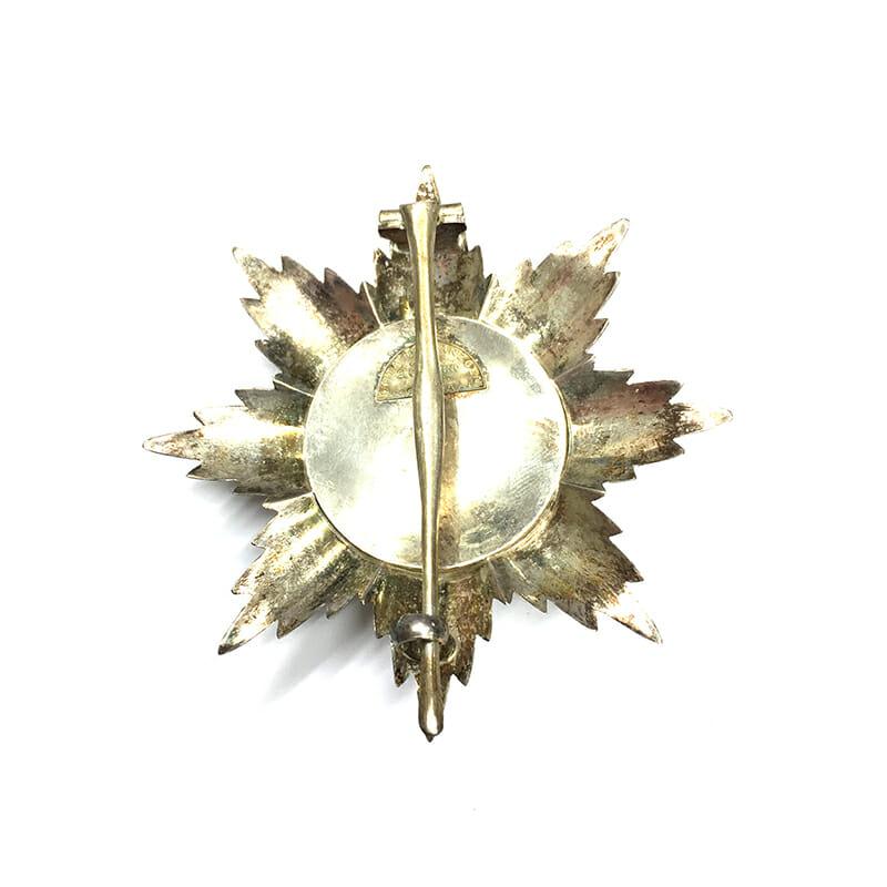 Order Scanderbeg Grand Cross breast star, 2