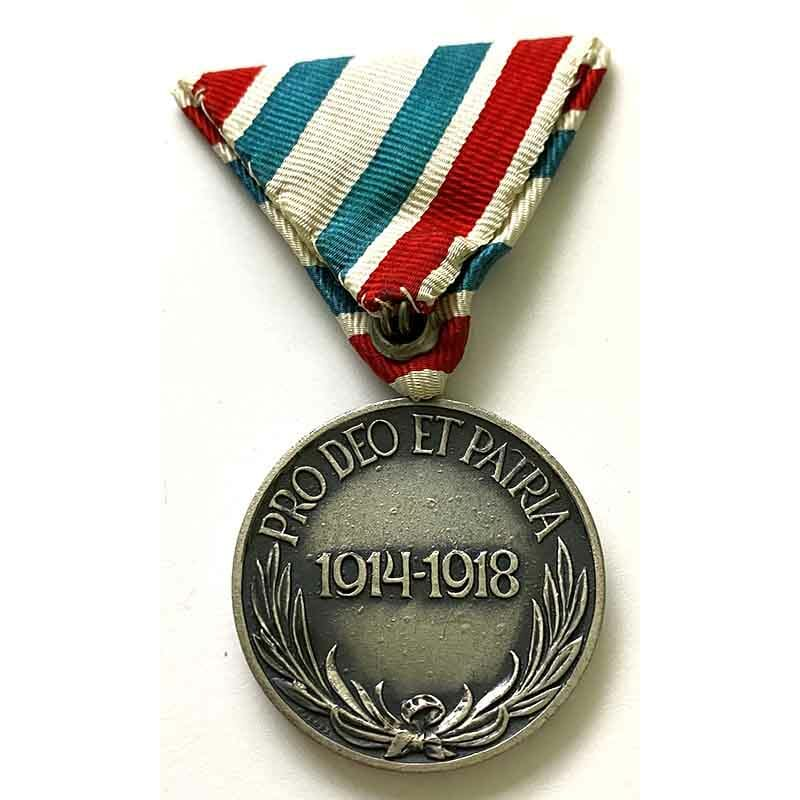 War Medal 1914-18  Hungarian Non-Combattant 2
