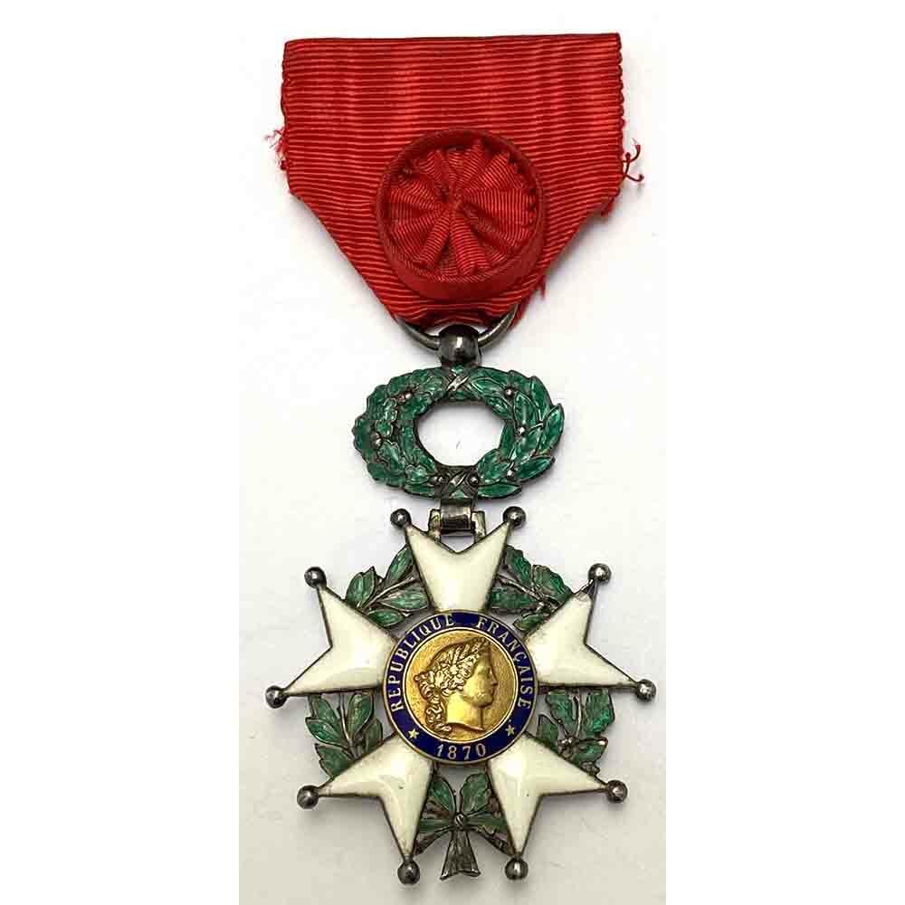 Legion D'Honneur 1870-1951 Officer with gold centre 1