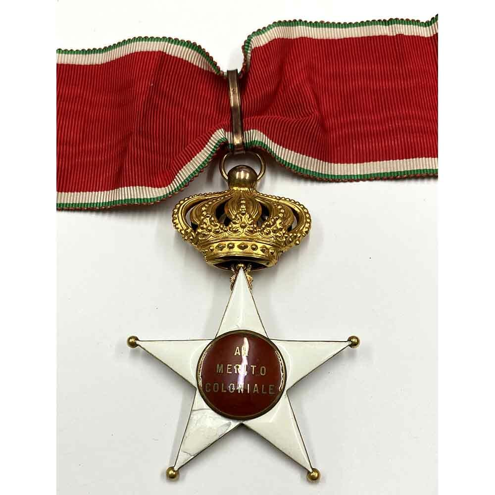 Colonial Order of the Star of Italy Commander 2