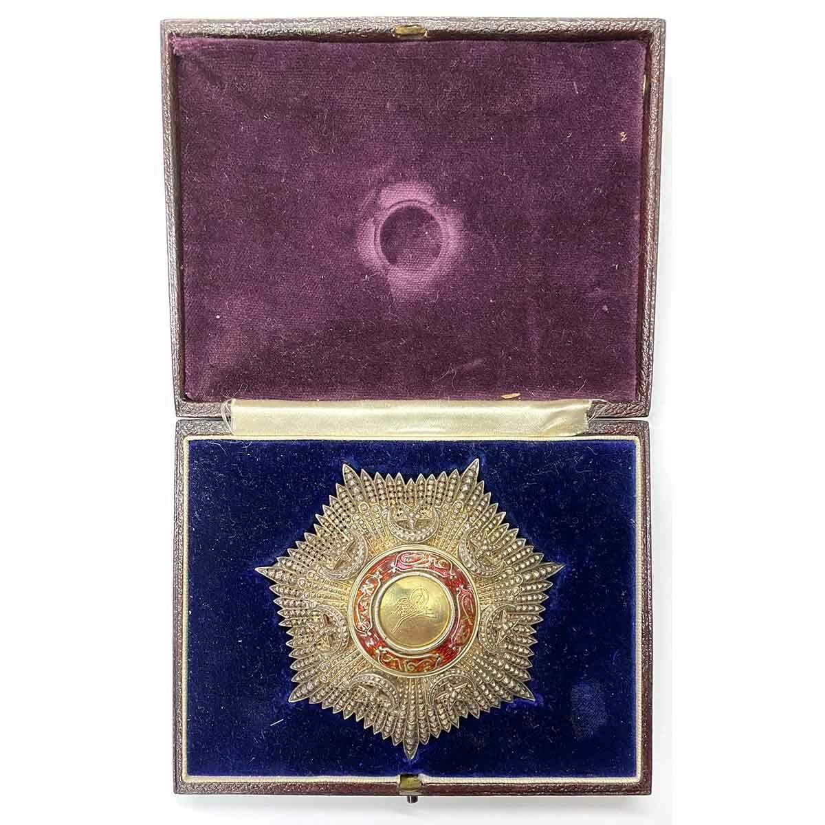 Order of the Medjidie Large Breast Star 1