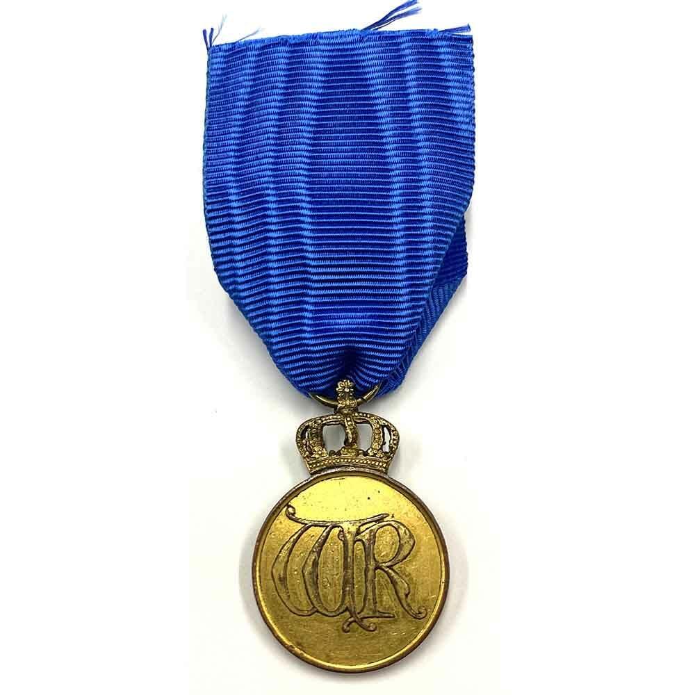 Order of the Crown Merit medal 1st type gilt 2