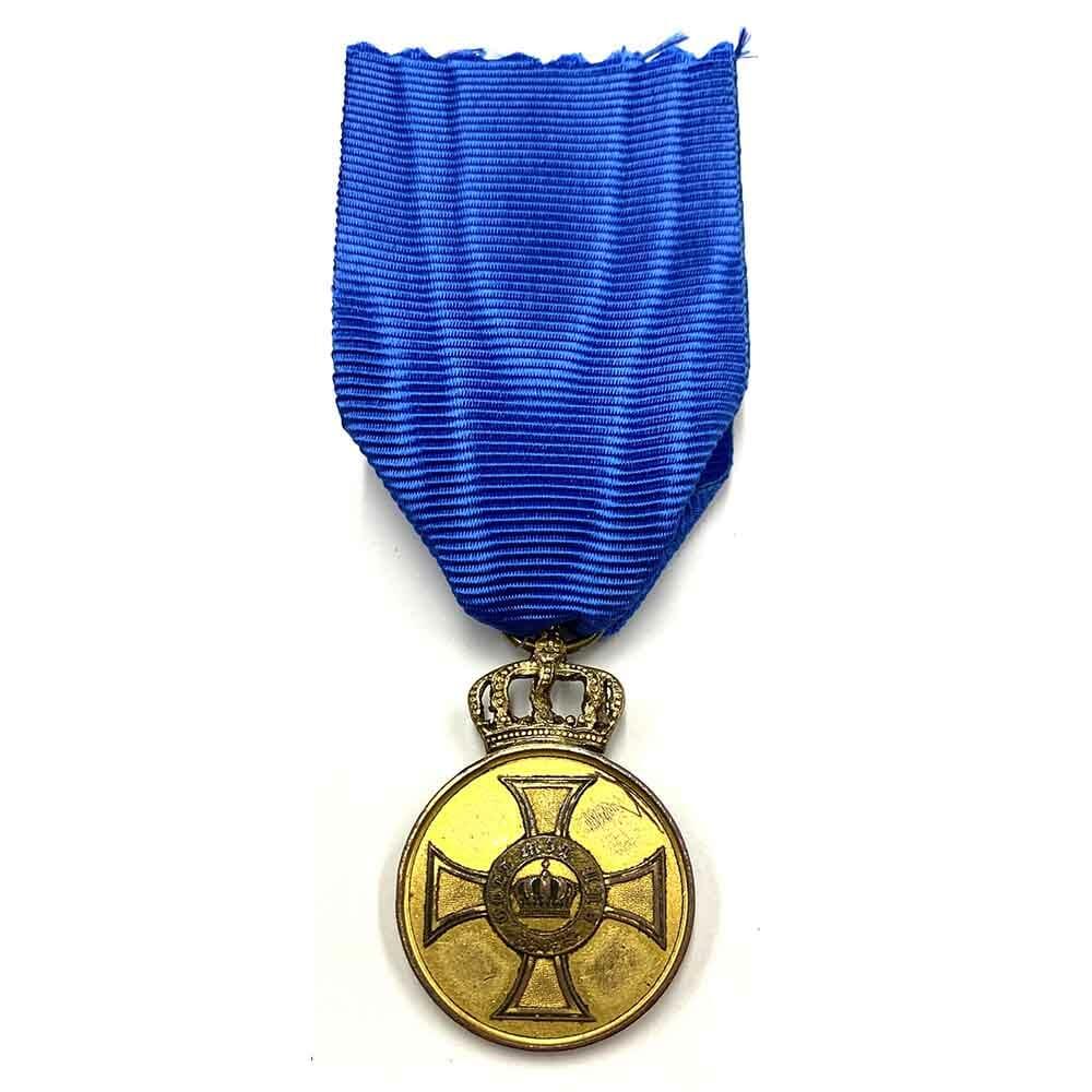 Order of the Crown Merit medal 1st type gilt 1