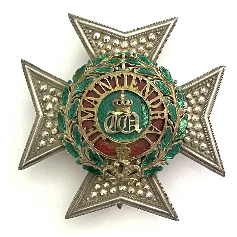 Order of the Oaken Crown Grand Officer  breast star good heavy quality 1