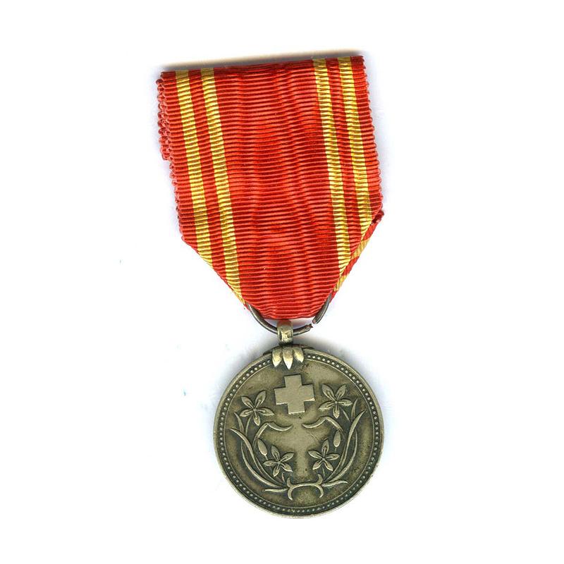 Manchuria Red Cross Merit medal silver 1