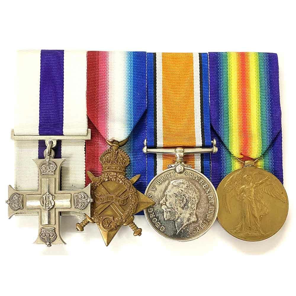 Military Cross Trio Machine Gun Corps 1