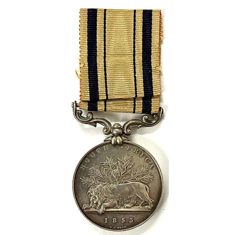 South Africa 1853 War Medal Cape Mounted Riflemen 2