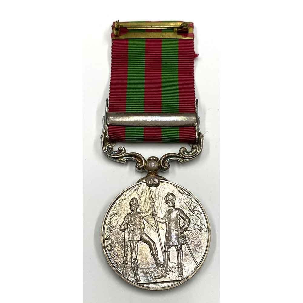 IGS EDVII Waziristan 1901-2 silver 2