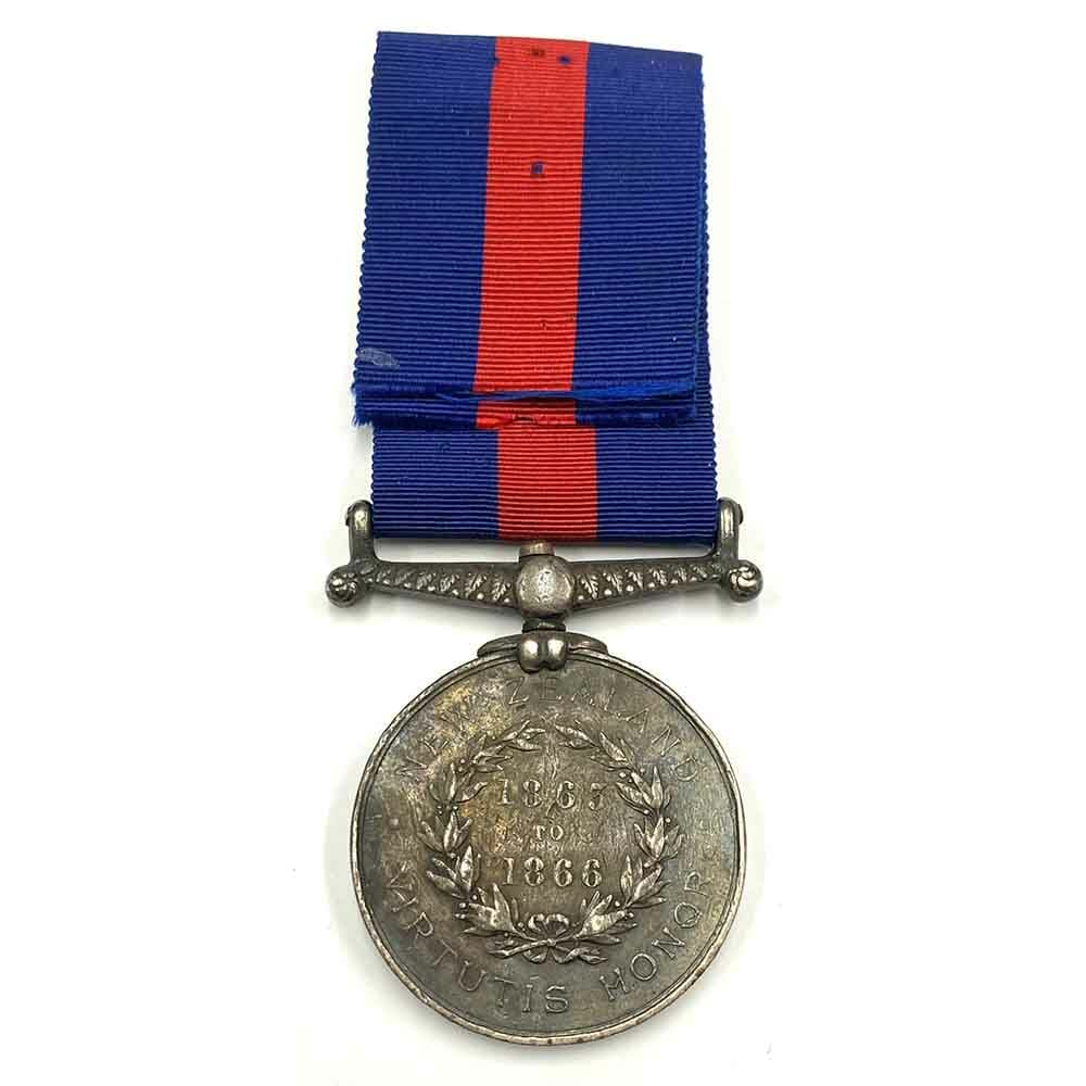 New Zealand Medal 1863-1866, 150th Q O Regt 2
