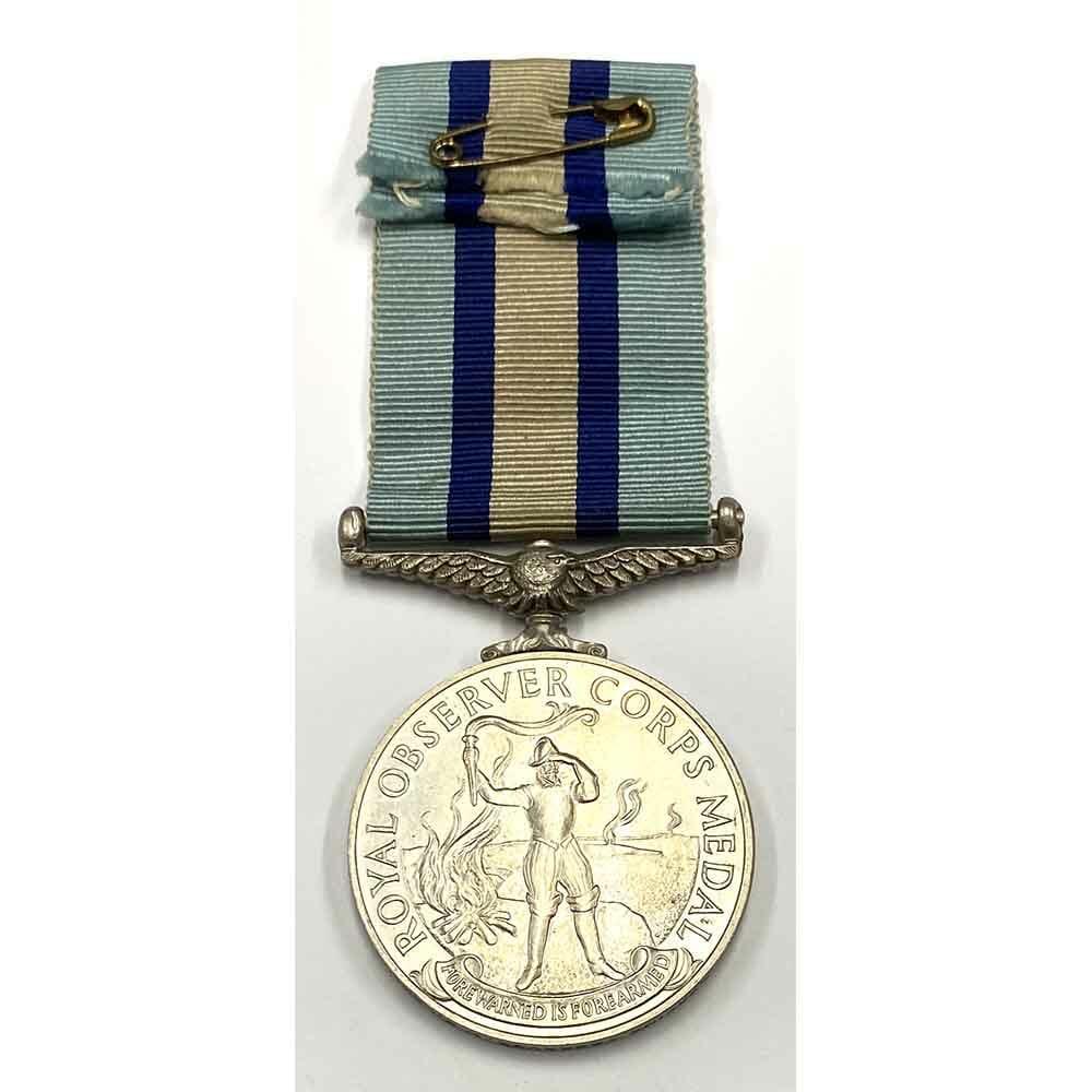Observer Corps Medal Leading Observer 2