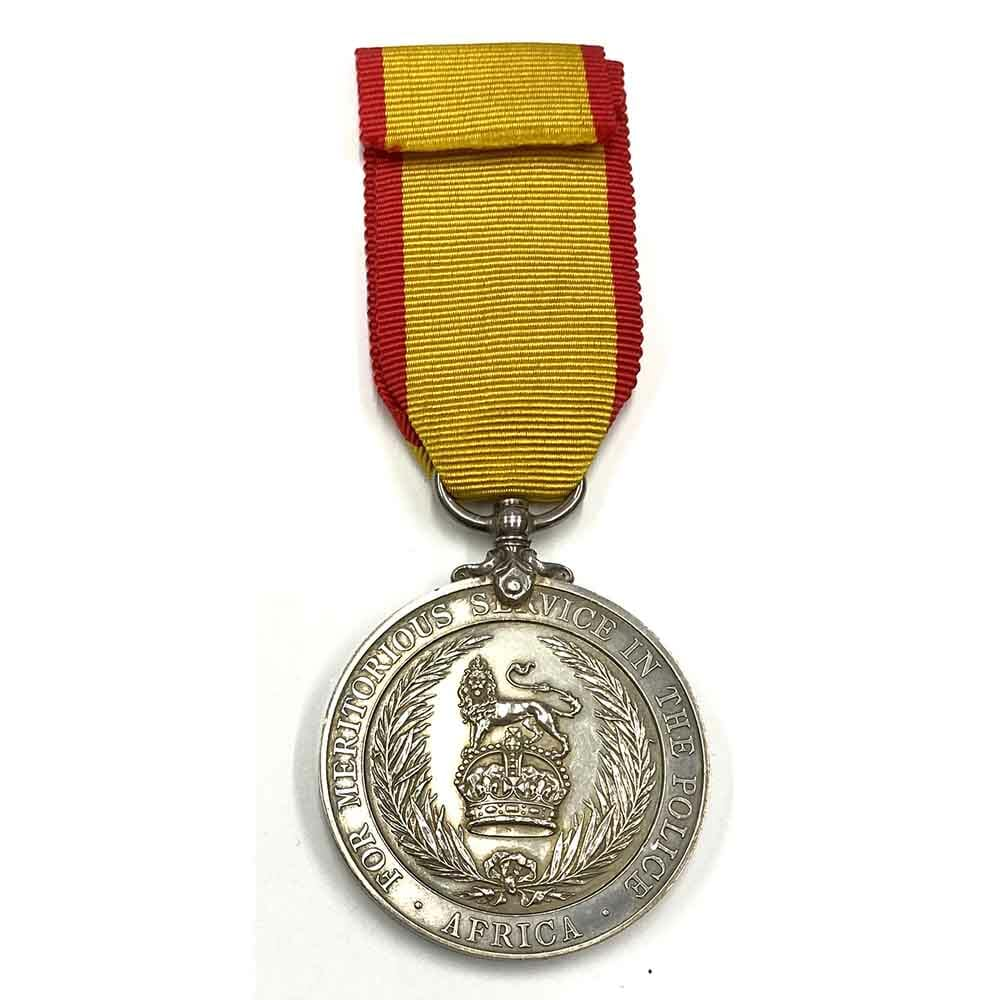 Africa Police Meritorious Service Medal 2
