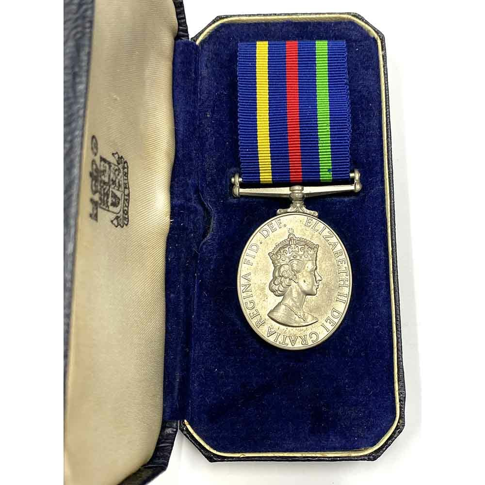 Ulster Civil Defence Medal rare 1