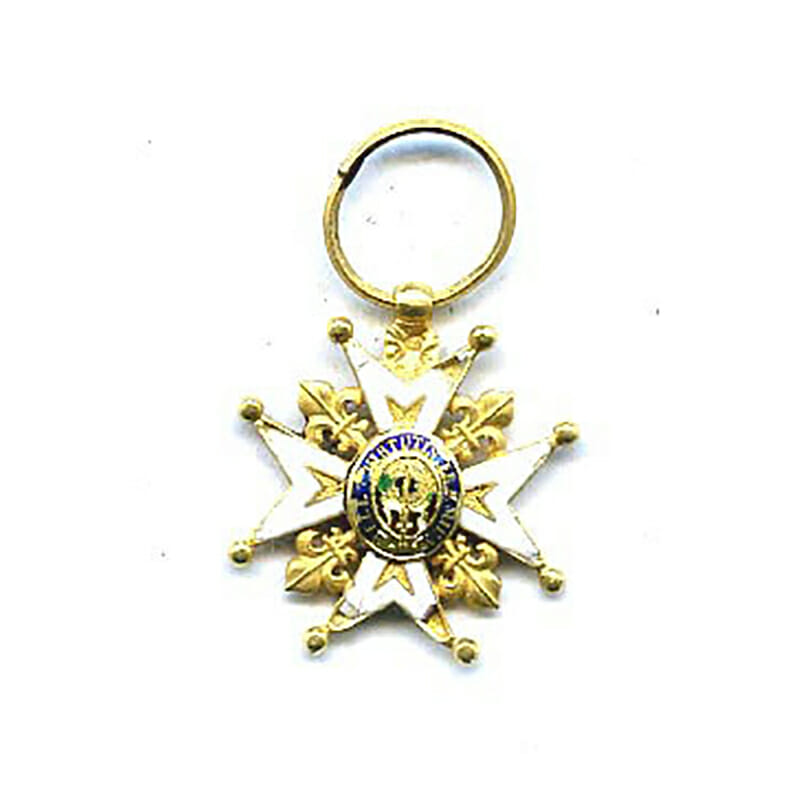Order of St. Louis gold 2