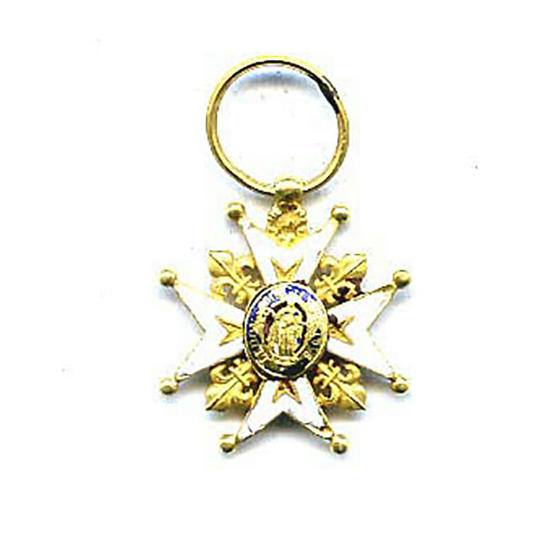 Order of St. Louis gold 1
