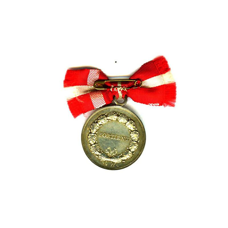 Medal of Merit  Frederick IX  to Johanne Elvira Norgaard in fitted case... 2