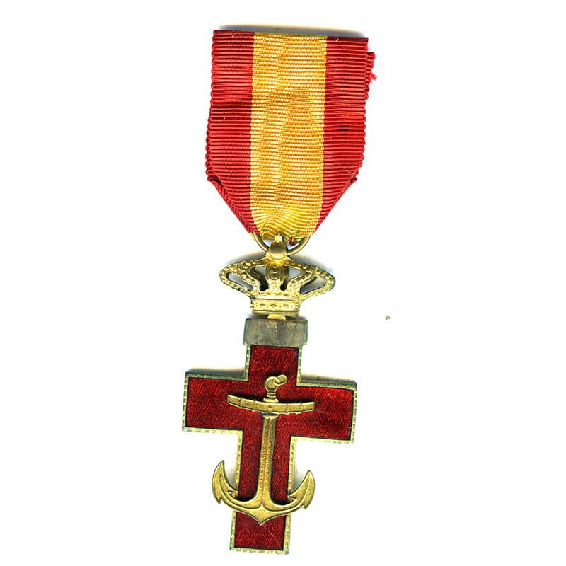 Order of  Naval  Merit Knight Kingdom  Red enamel 1