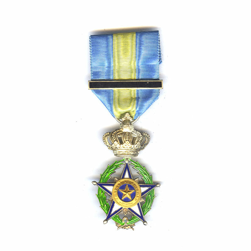 Order of the Star of Africa (Belgian Congo 1888) Knight with enamelled... 1