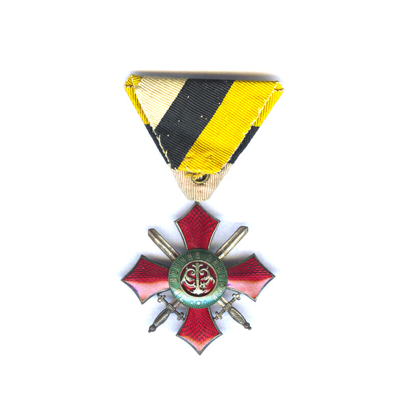 Order of Military Merit 1891 4th Class no Crown 2