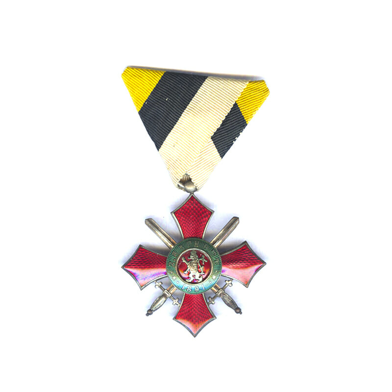 Order of Military Merit 1891 4th Class no Crown 1