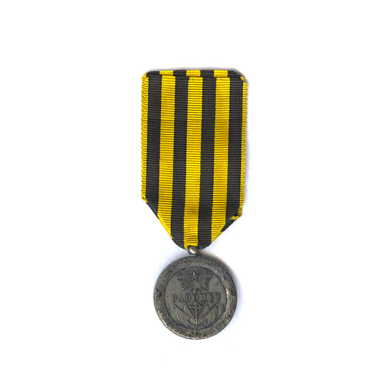 Dahomey campaign Medal 1892  type with ball suspender 2