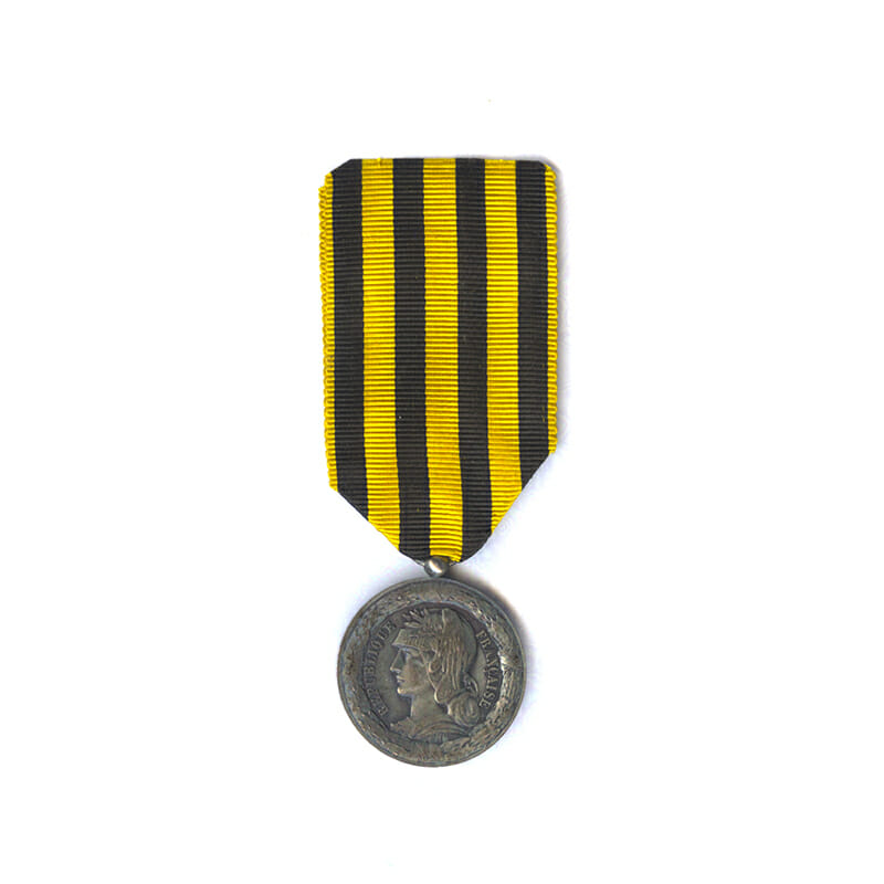 Dahomey campaign Medal 1892  type with ball suspender 1