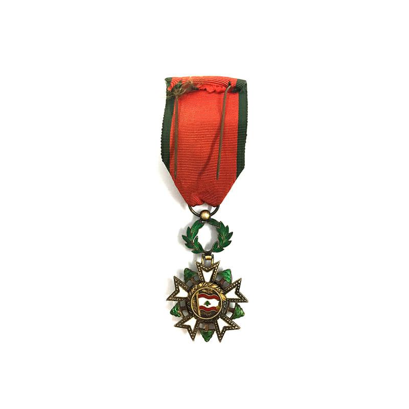 Order of the Cedar of Lebanon Officer 2