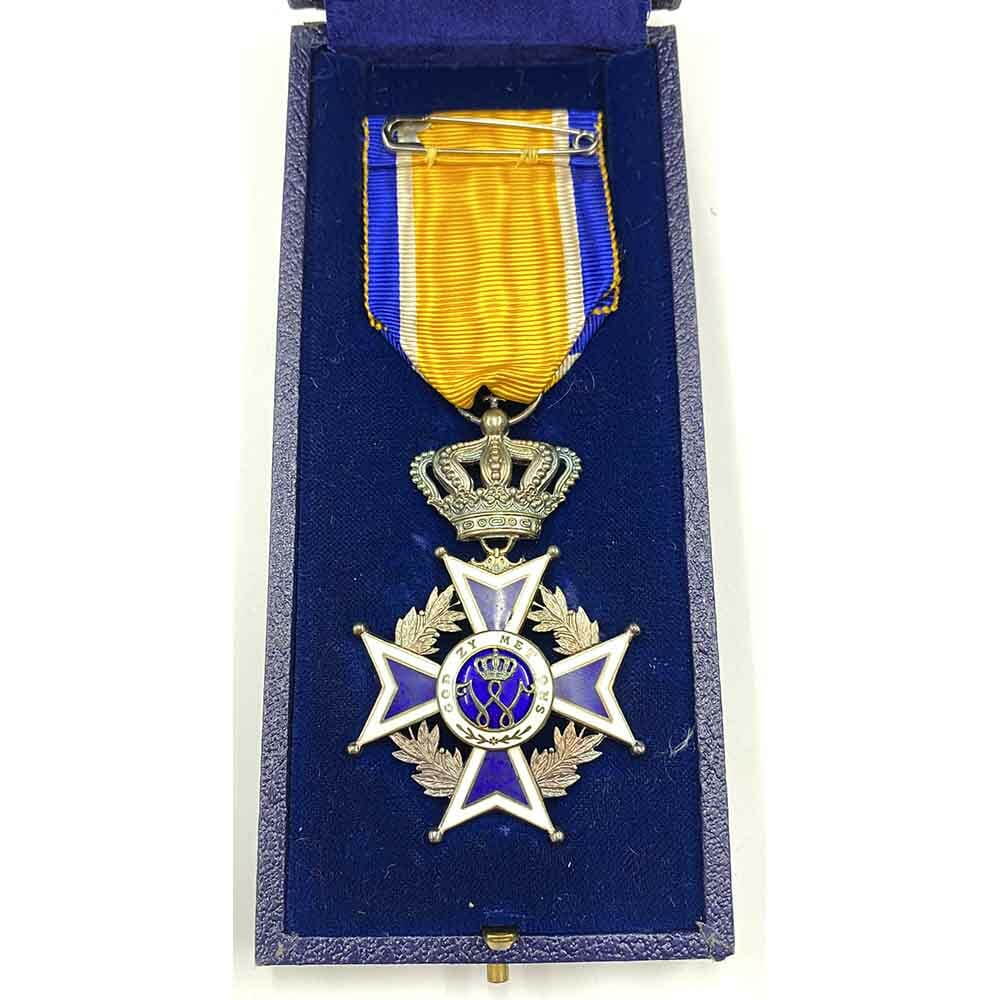 Order of Orange Nassau Knight in silver superb quality 2