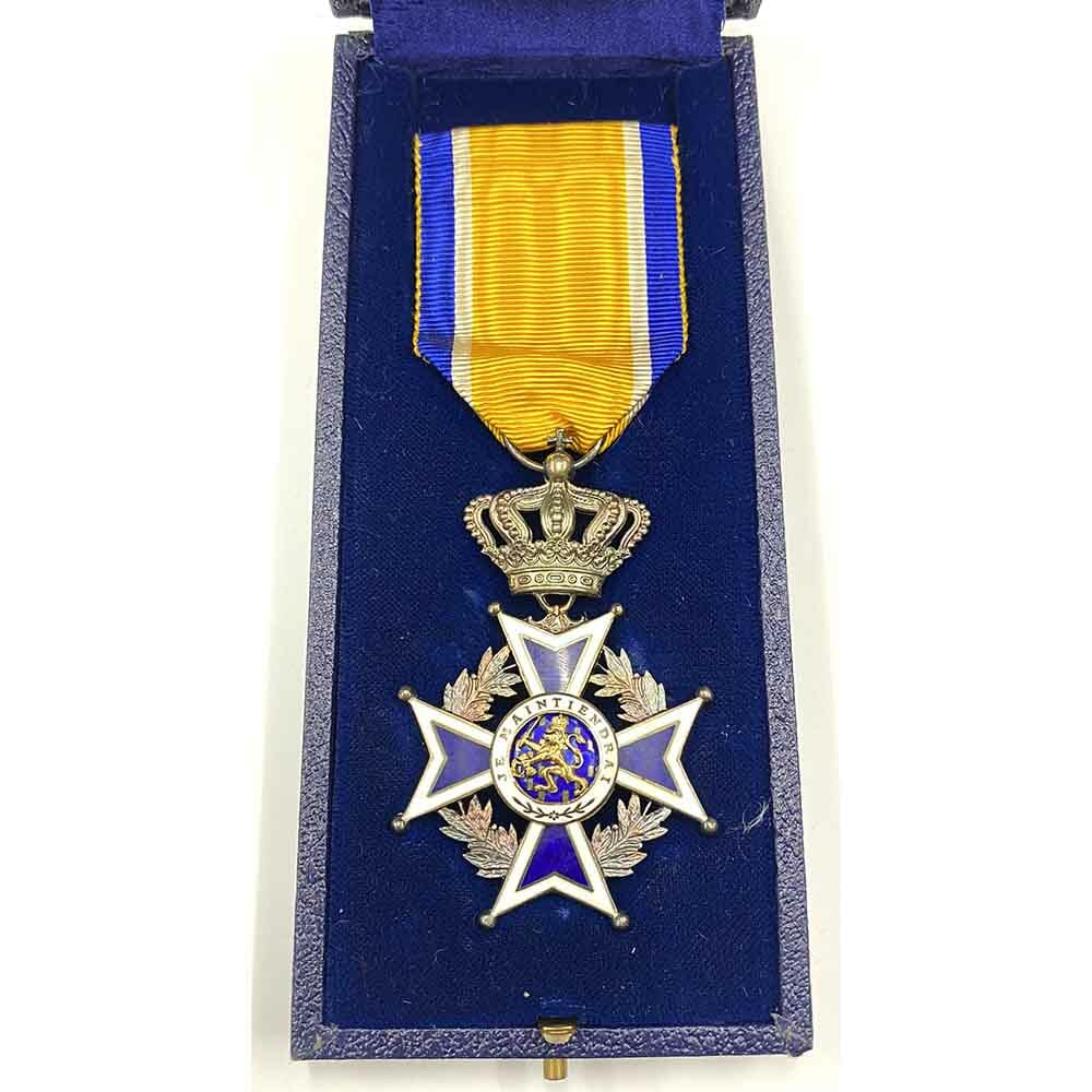 Order of Orange Nassau Knight in silver superb quality 1