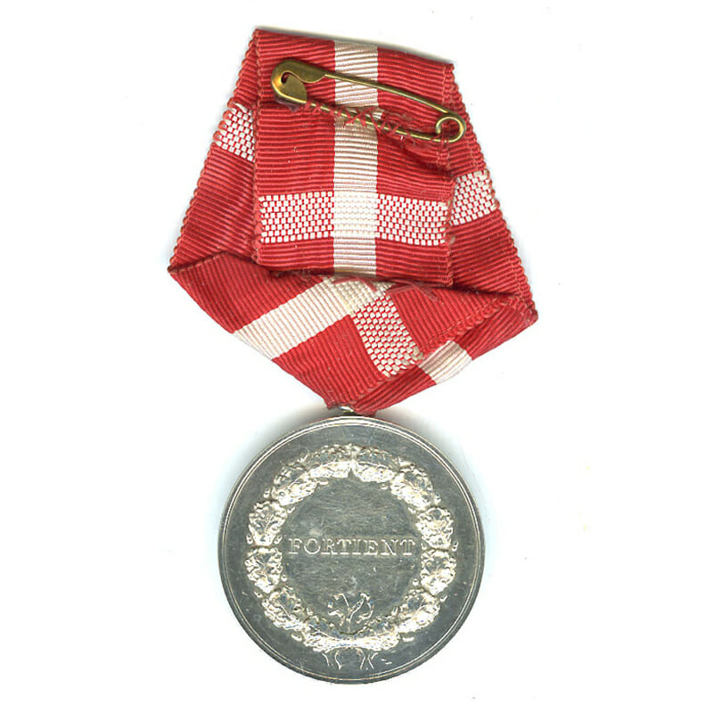 Medal of Merit  Frederick IX  to Ferdinand Mogensen 2