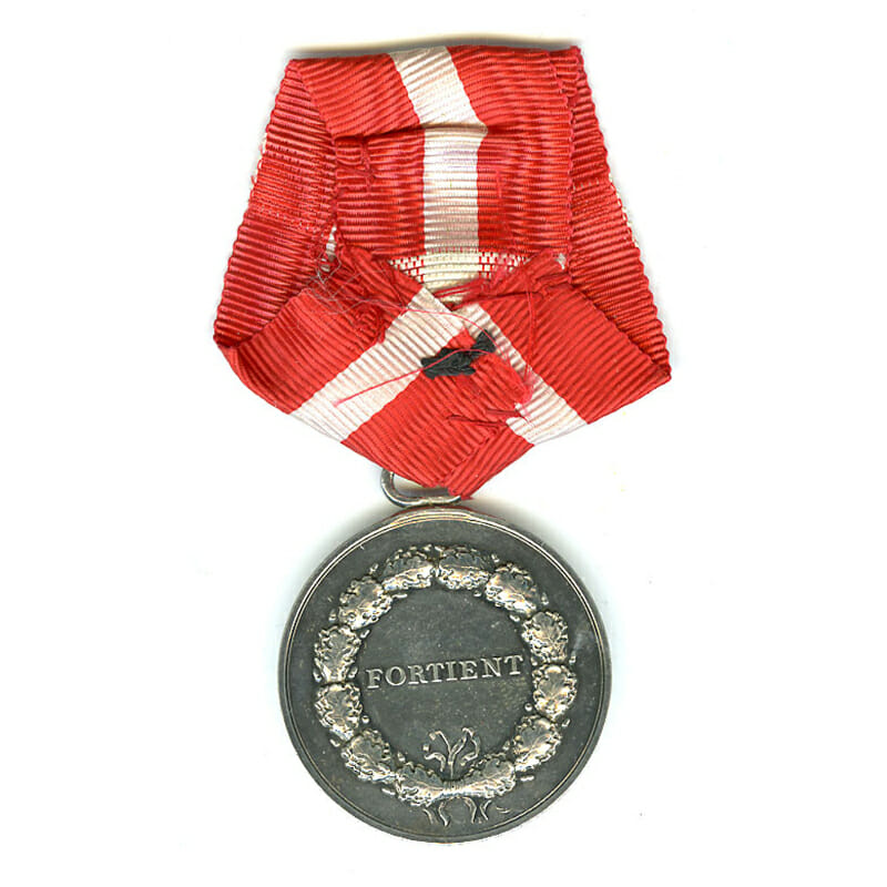 Medal of Merit  Christian X  to Frederic Lund 2