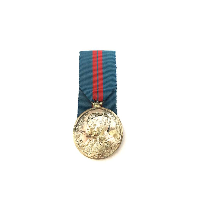 Delhi Durbar 1911 Silver 1