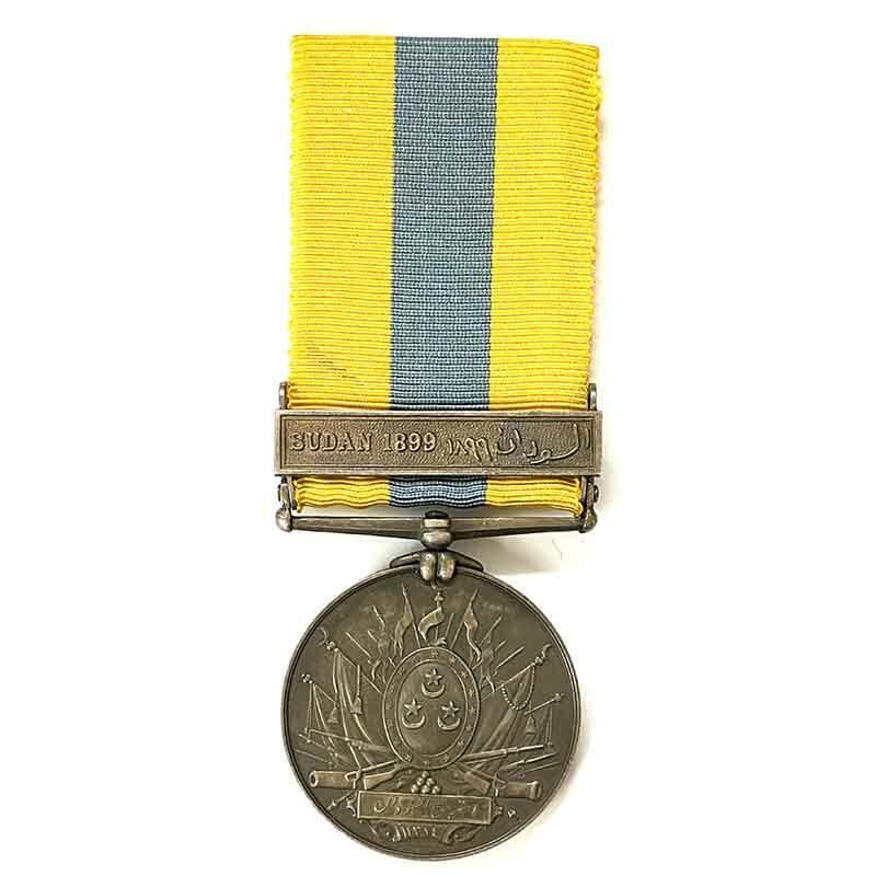 Khedive's Sudan Medal bar Sudan 1899 1
