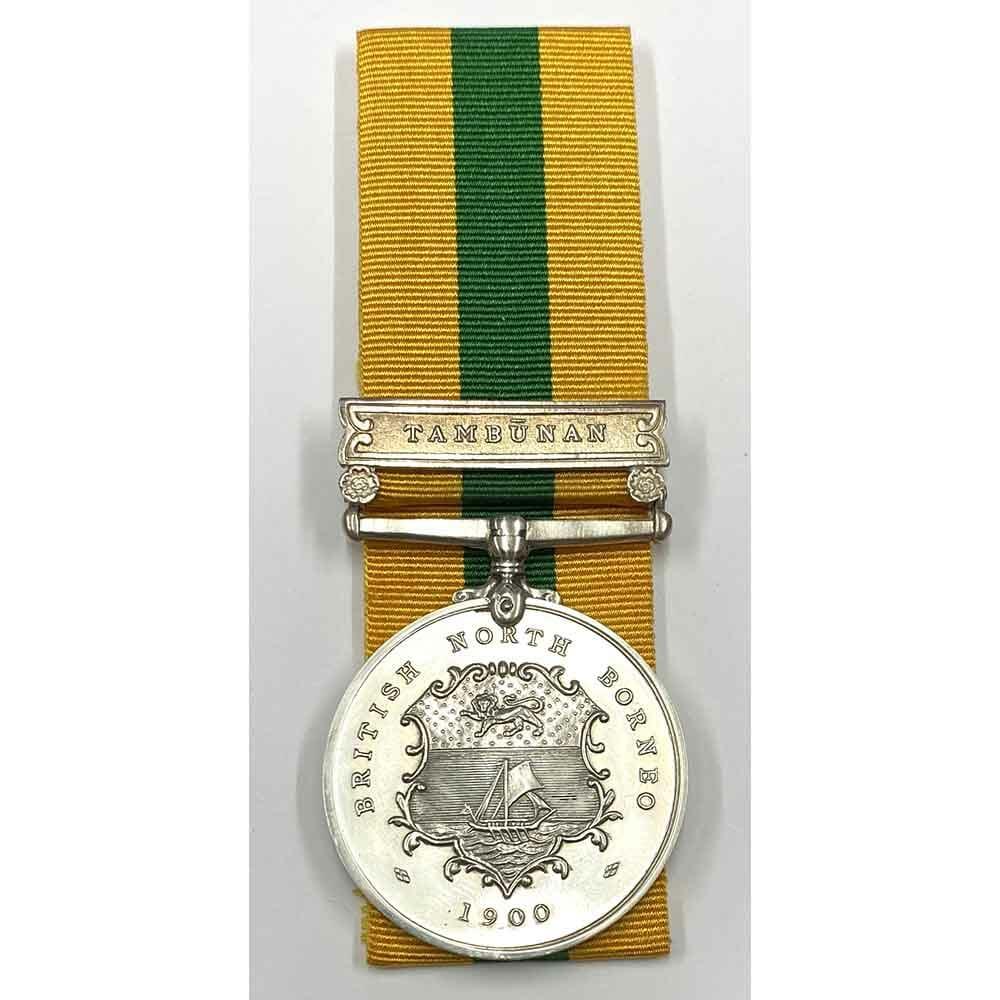 British North Borneo Tambunan silver 1