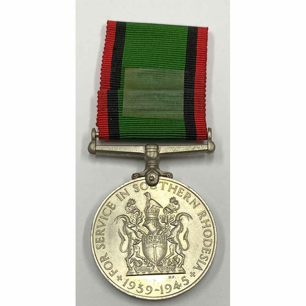 Southern Rhodesia Service Medal WW2 2