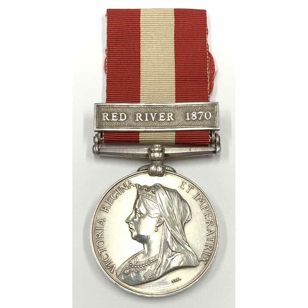 Canada General Service Red River 1870 1