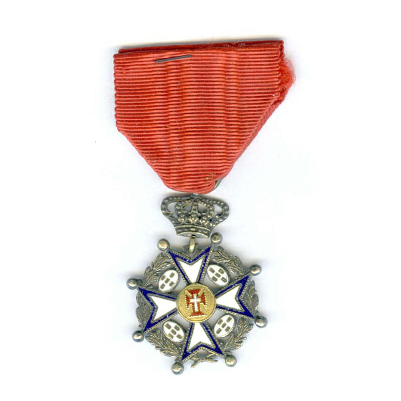 Order of Christ Knight   Military with wreath and crown 2