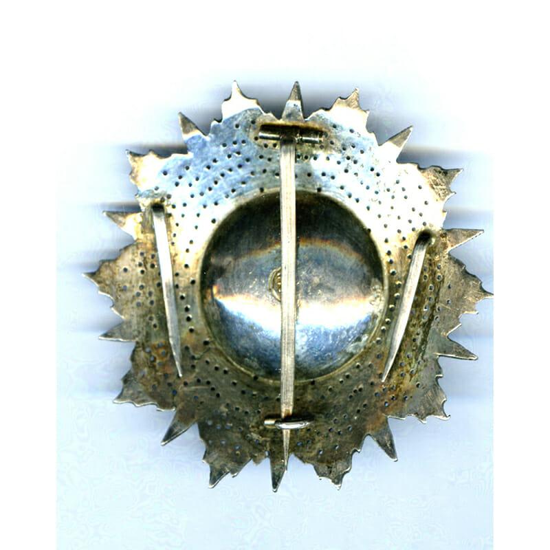Order of Nichan Iftikhar  Grand Cross breast star Ali Bey 1882-1902 2